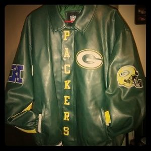 Jackets & Blazers - Green Bay Packers Leather jacket XL